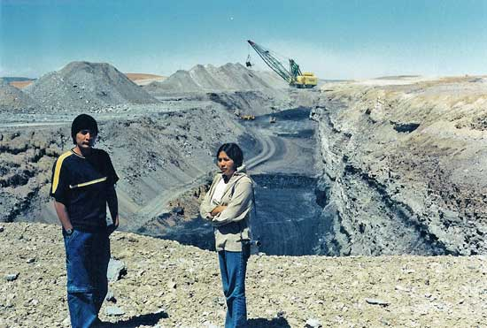 Hopi and Coal Mining on Black Mesa, Arizona